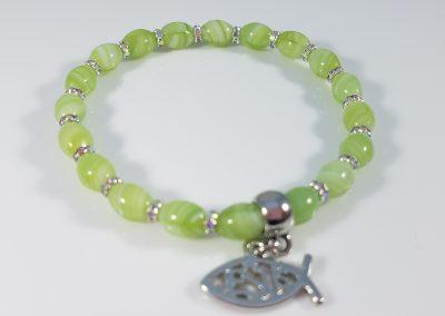 Grape Seed Charm Bracelet