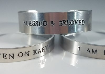 Hand Stamped Cuff Bracelet 2