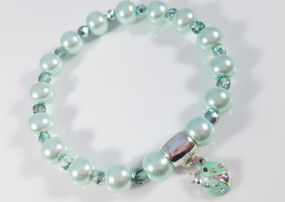 Simple Pearl Charm Bracelet 2